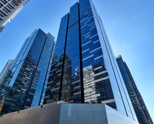 Asia Square office rental space