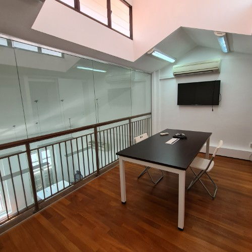 shophouse office with attic for rent in singapore