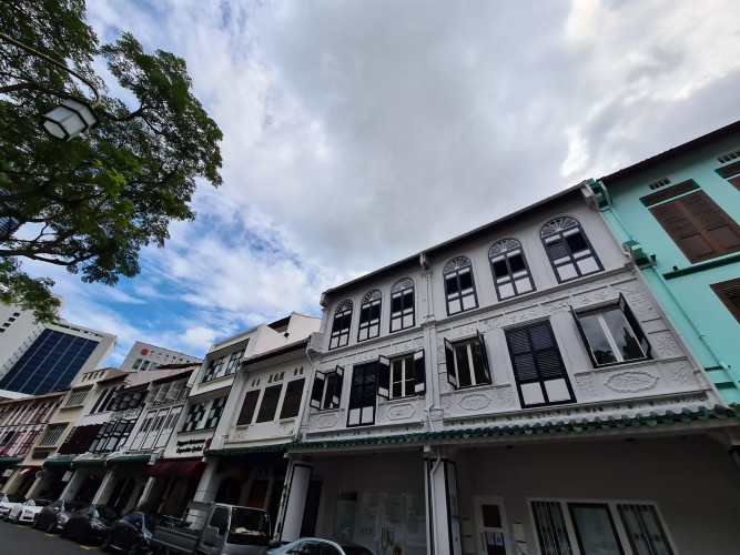 Awesome shophouse for sale in Singapore CBD