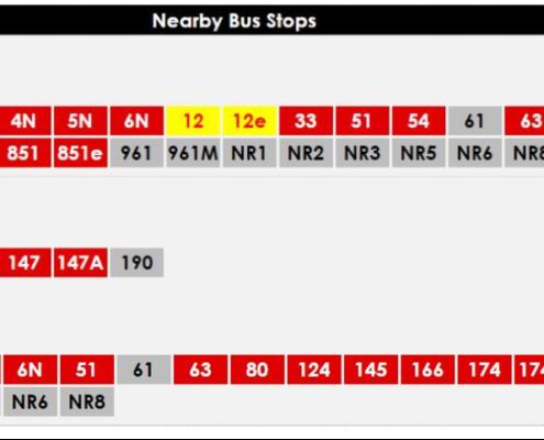 bus service to hongkong street