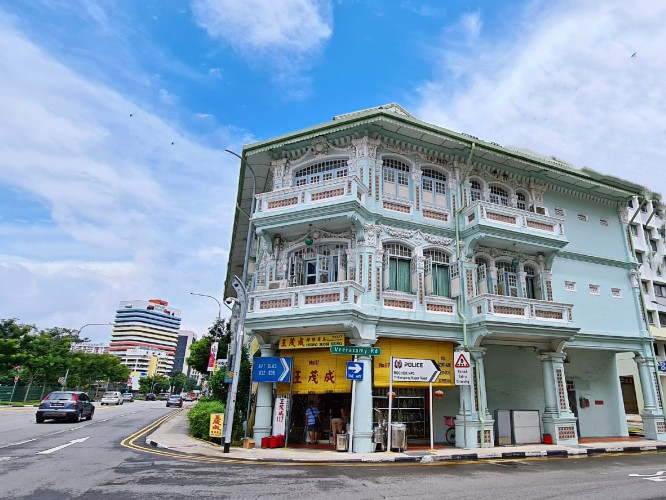 shophouse for sale in Singapore. Unique investment opportunity