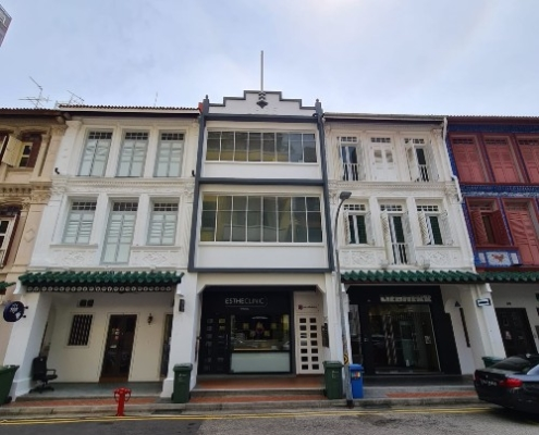 big shophouse office for rent