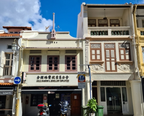Club Street shophouse for sale. Find more commercial property listings with shophouseoffice.com