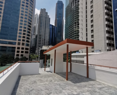 rooftop F&B space for rent